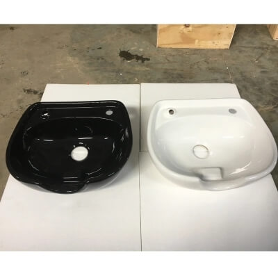 Salon ceramics hair washing sink bowls