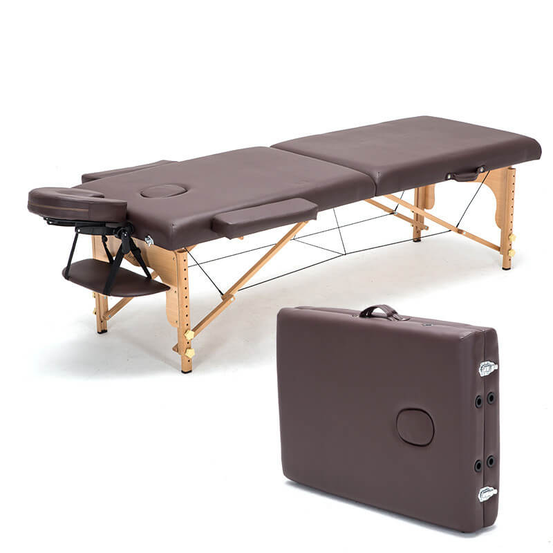 Lightweight professional portable folding massage table