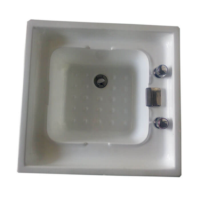 Acrylic pedicure tub