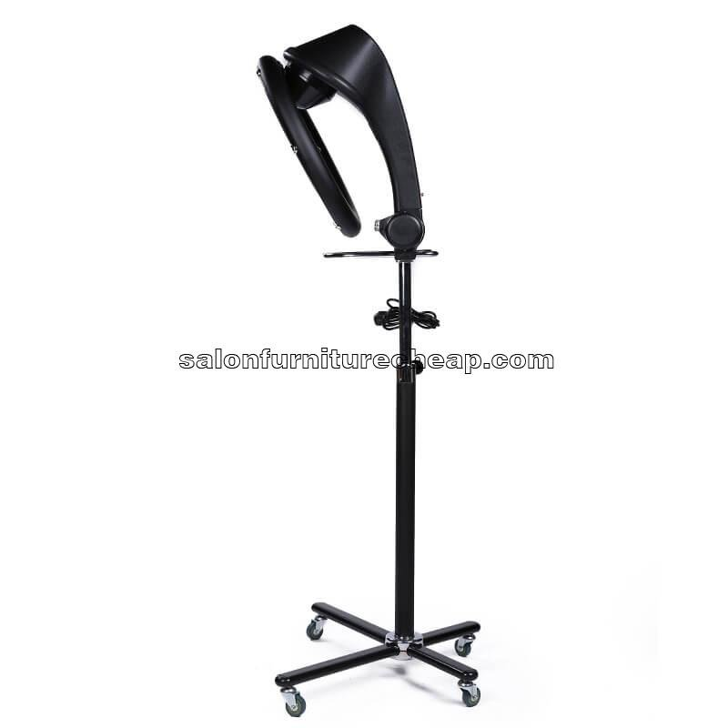 Standing professional salon infrared hair dryer color processor
