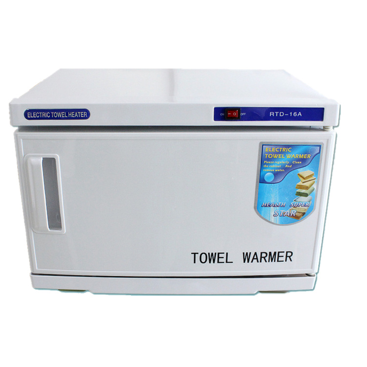 Mini salon towel warmer with uv sterilizer