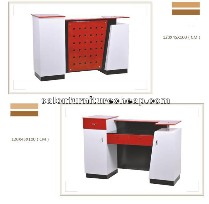 Small salon reception desk