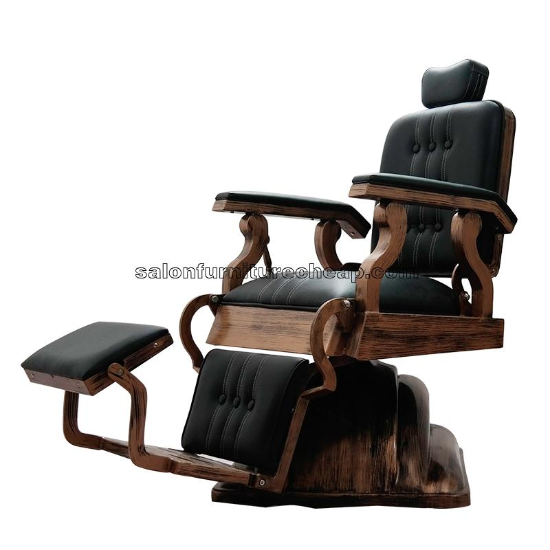 Antique barber chairs