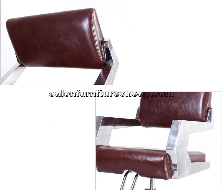 Black hairdressing chairs