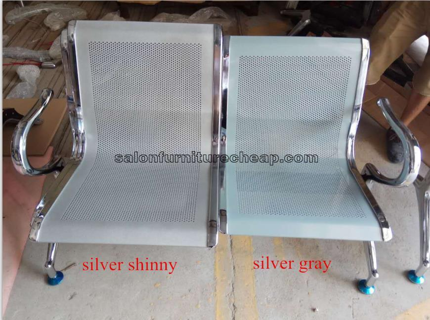 Cheap price 3 seater waiting room steel chair for sale