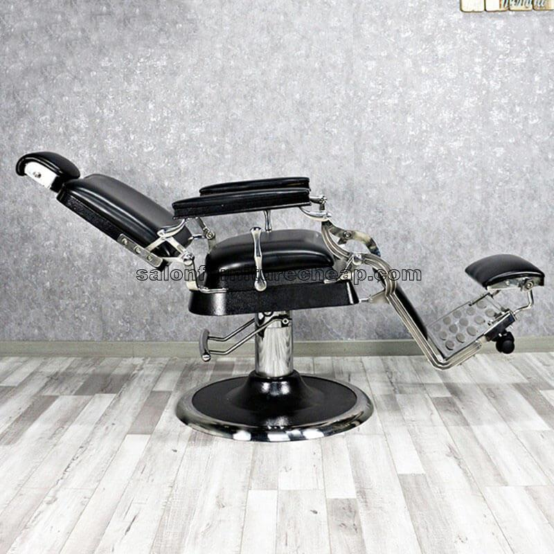 Vintage Hydraulic Reclining Barber Chair Manufacturer