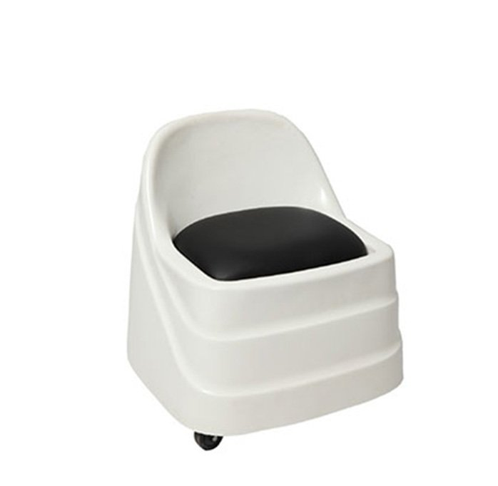Portable light weight pedicure technician stool