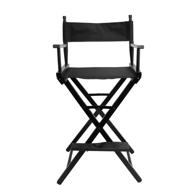 Professional portable folding makeup artists chair