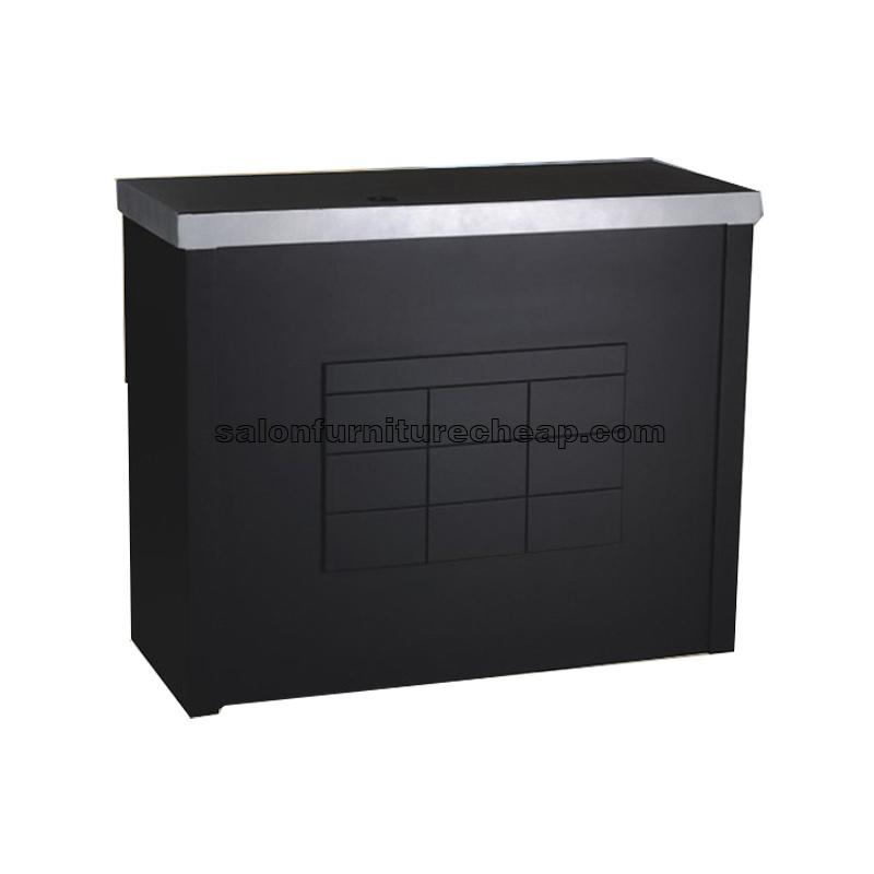 Front Desk Furniture Black Reception Desk