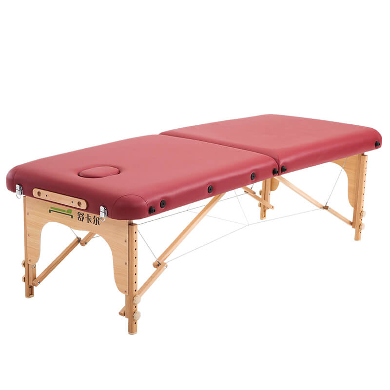 Foldable massage table spa massage bed
