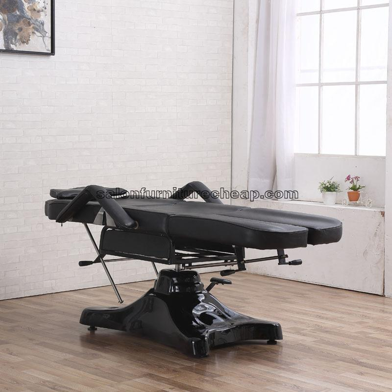 Hydraulic tattoo bed