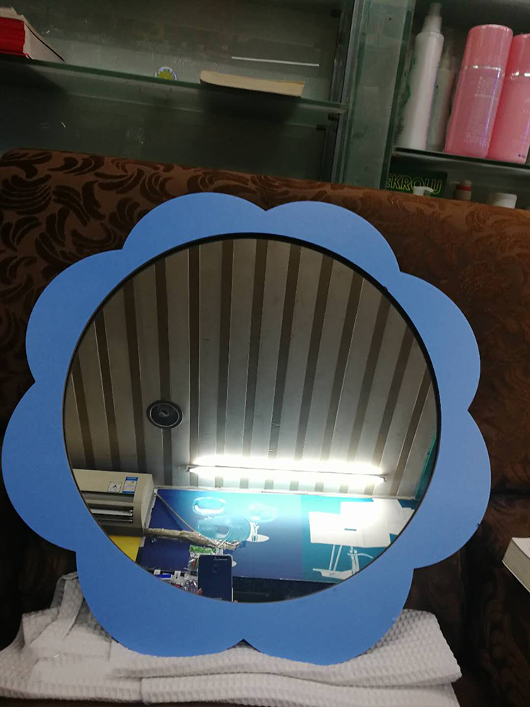 Barber wall mirrors for kids salon equipment