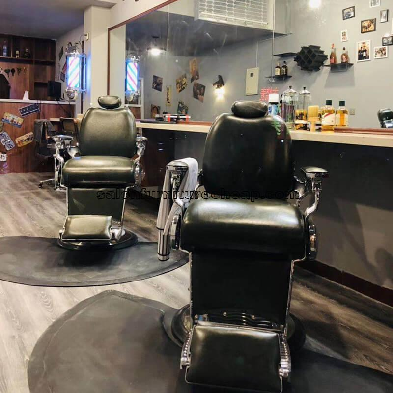 Reclining barber chair cheap hairdressing furniture