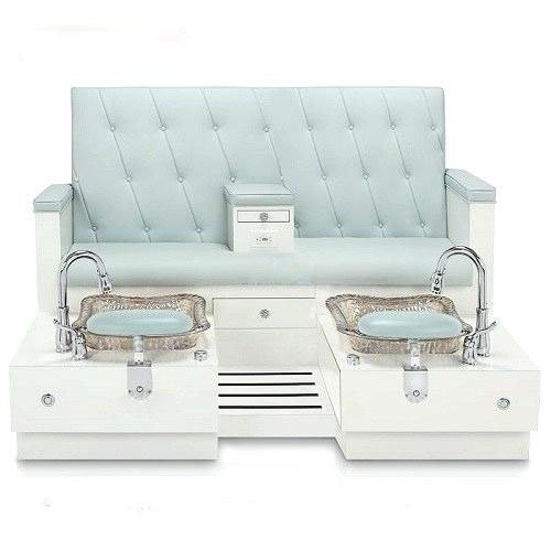 Double pedicure chair bench