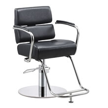 Black barber chair price