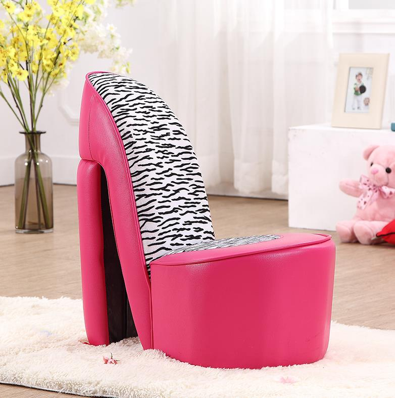 Cute creative kids pink sofa