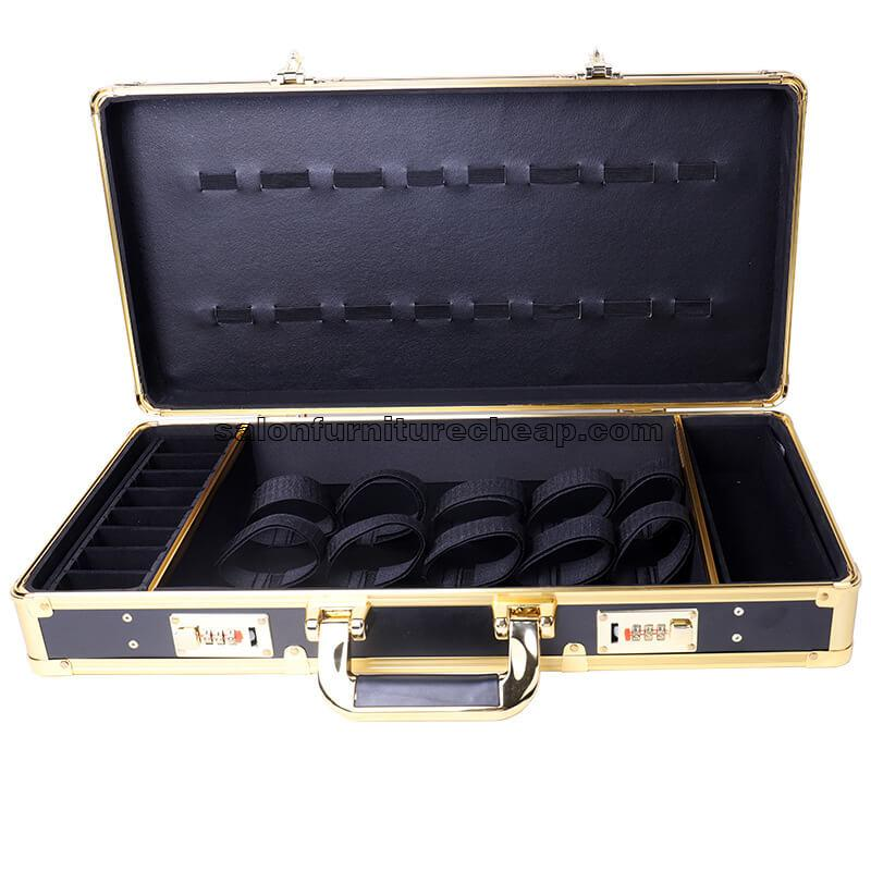 High-end aluminum alloy case hairdressing tool box
