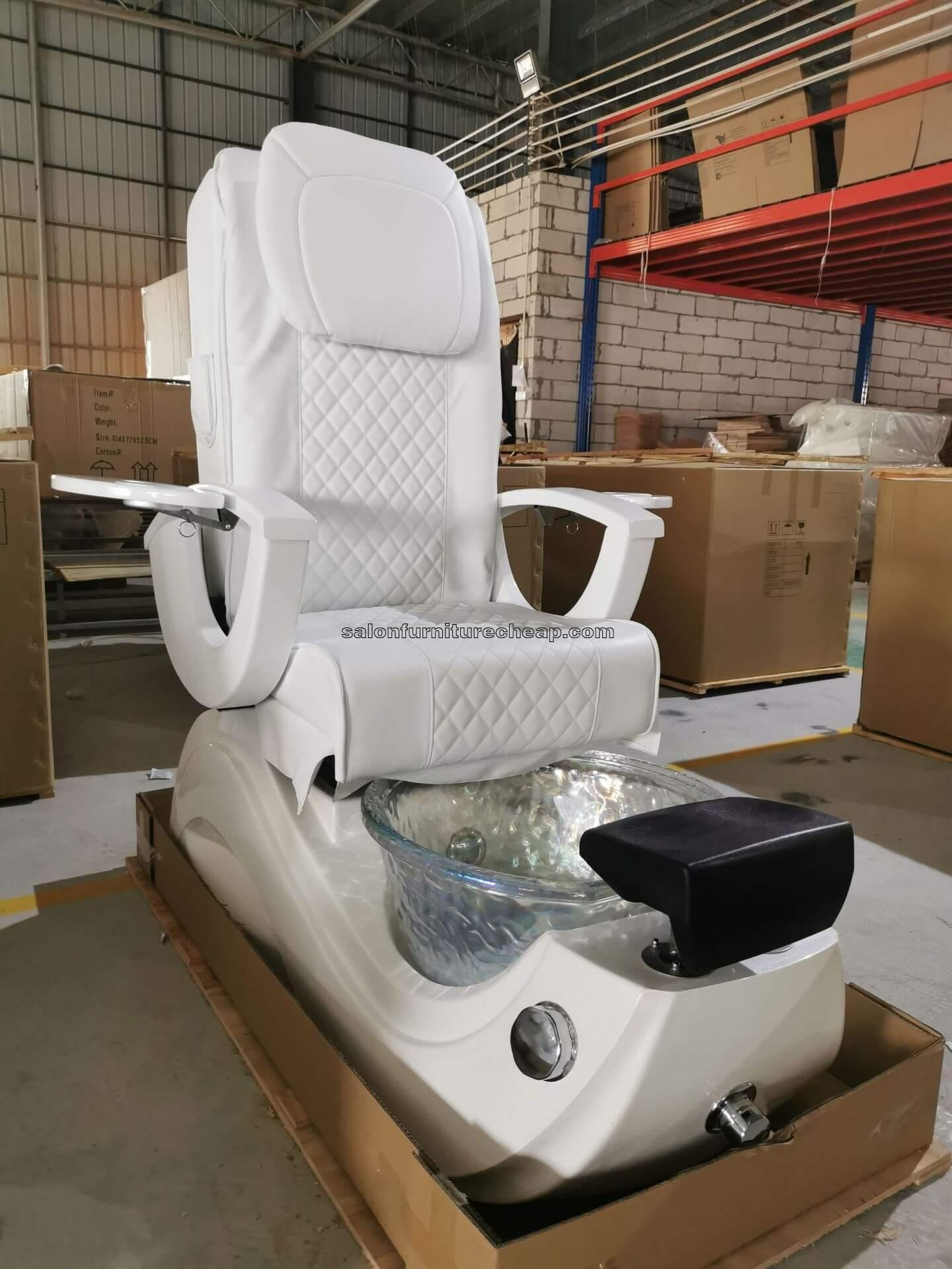 White pedicure chair for sale