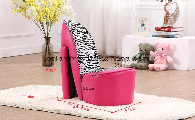 Cute Creative Kids Pink Sofa